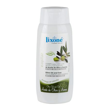 Champú para cabellos secos o castigados de aceite de Oliva y Avena