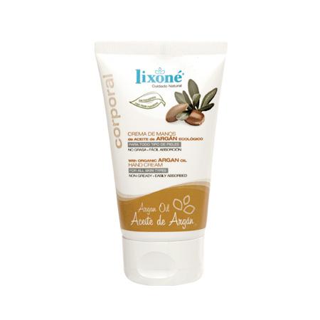 Crema de manos de Aceite de Argán ecológico para todo tipo de pieles (no grasa, fácil absorción)