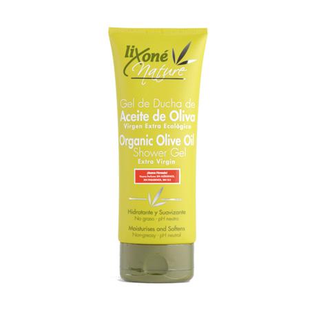 Gel de ducha de aceite de oliva virgen extra ecológico pH neutro