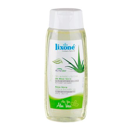 Gel de ducha y baño con Aloe Vera 250 ml.