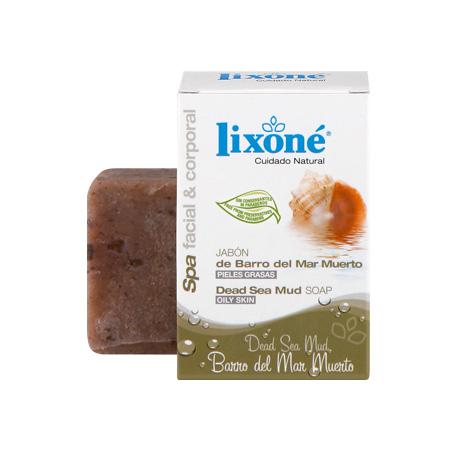 Pastilla de jabón de barro del mar muerto para pieles grasas de 125 gr.