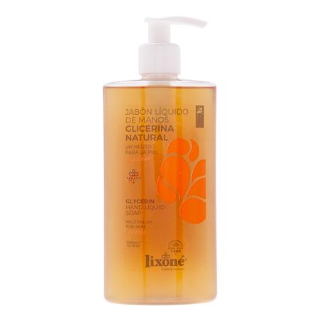 Jabón líquido de manos de glicerina