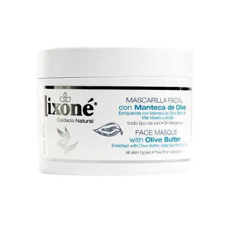 Mascarilla facial con manteca de oliva para todo tipo de piel (sin alérgenos)