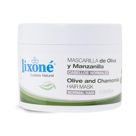Mascarilla de aceite de oliva y manzanilla para cabellos frágiles o normales