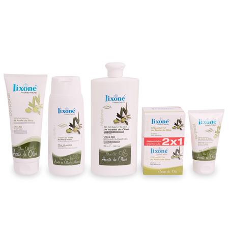 Pack ahorro 20% en selección de productos Lixoné con Aceite de Oliva