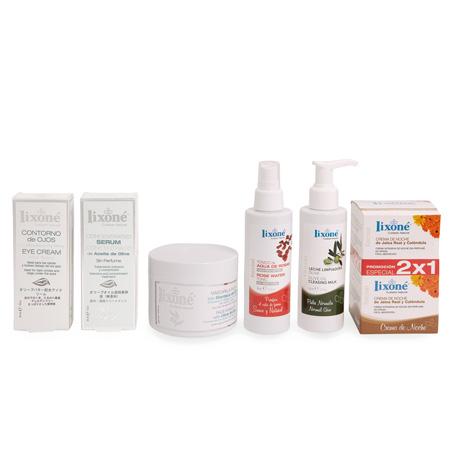 Pack ahorro 20% en selección de productos Lixoné para el tratamiento facial