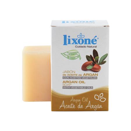Pastilla de jabón de aceite de argán con aceites vegetales de 125 gr.