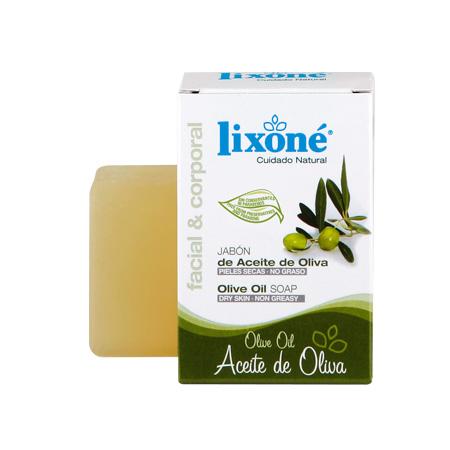 Pastilla de jabón de aceite de oliva no graso e ideal para pieles secas de 125 gr.