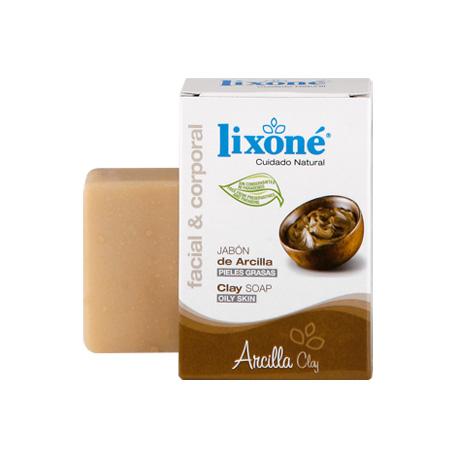 Pastilla de jabón de arcilla para peles grasas de 125 gr.